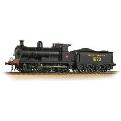 SE&CR C Class 1573 SR Lined Black