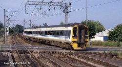 Class 158 2 Car DMU 158849 Regional Railways DCC Sound