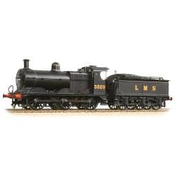 Class 3F 3520 LMS Black Deeley Tender