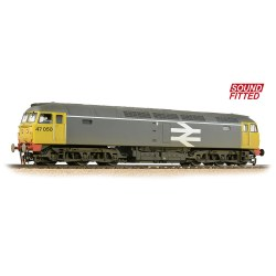 Class 47/0 47050 BR Railfreight - Sound Fitted - Weathered