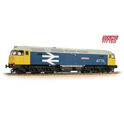 Class 47/7 47711 'Greyfriars Bobby' BR Blue (Large Logo) - Sound Fitted