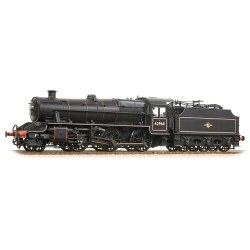 LMS Stanier Mogul 42968 BR Lined Black Late Crest Preserved