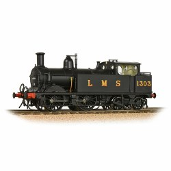 Midland Railway 1532 Class (1P) 0-4-4 1303 LMS Black