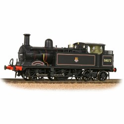 Midland Railway 1532 Class (1P) 0-4-4 58072 BR Lined Black Early Emblem