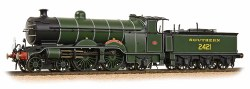 H2 Class Atlantic 4-4-2 2421 South Foreland SR Olive Green