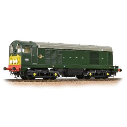Class 20 D8011 BR Green Small Yellow Panel Indicator Disks