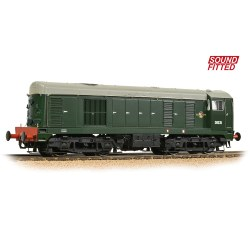 Class 20/0 Disc Headcode D8035 BR Green (Late Crest) - Sound Fitted