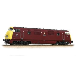 Class 43 'Warship' D838 'Rapid' BR Maroon Full Yellow Ends