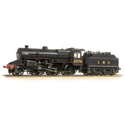 LMS Crab 13174 LMS Lined Black
