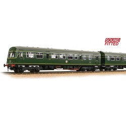Class 101 2-Car DMU BR Green (Roundel) - Sound Fitted