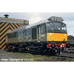 Class 25/2 D5282 BR Green Small Yellow Panel