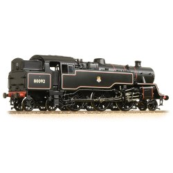 BR Standard Class 4MT Tank 80092 BR Black Early Emblem