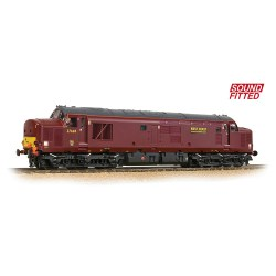 Class 37/5 Refurbished 37669 WCRC Maroon - Sound Fitted