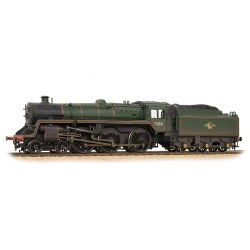 BR Standard Class 5MT 73051 BR Lined Green Late Crest Weathered