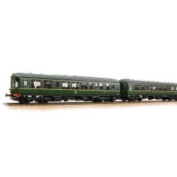 Derby Lightweight 2-Car DMU BR Green (Early Emblem)