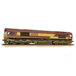 Class 66 66065 Ex-EWS (DBS Branding) - Weathered