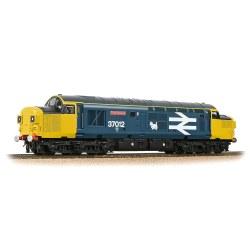 Class 37/0 Split Headcode 37012 'Loch Rannoch' BR Blue (Large Logo)