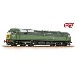 Class 47/0 D1842 BR Two-Tone Green (Small Yellow Panels) - Sound Fitted