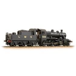 Ivatt Class 2MT 2-6-0 6418 LMS Plain Black