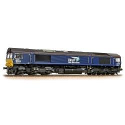 Class 66 66434 DRS Plain Blue Compass