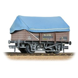 5 Plank China Clay Wagon BR Bauxite (TOPS) With Hood [W]