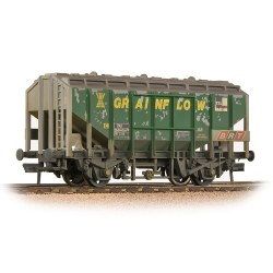 BR 41T Bulk Grain Hopper BRT 'Grainflow' Green - Weathered