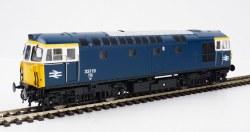 Class 33 BR Blue 33119 White Cab Window Surrounds)