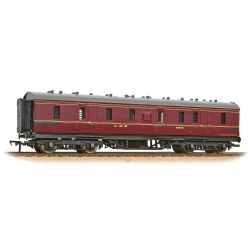 Stanier 50' Period III Full Brake LMS Crimson Lake