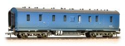 Stanier 50' Period III Full Brake BR Blue  - Weathered