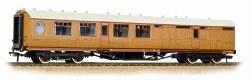 Thompson Brake Third Corridor LNER Teak