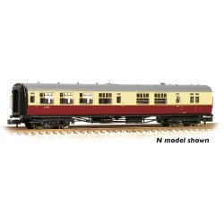 "Bulleid 63' Brake Third Semi-Open 15"" Vents BR Crimson & Cream Set 847"