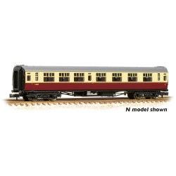 "Bulleid 63' Composite Corridor 15"" Vents BR Crimson & Cream Set 847"