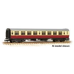 "Bulleid 63' Third Corridor 15"" Vents BR Crimson & Cream Set 847"