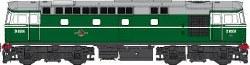 Class 33/0 BR Green D6504