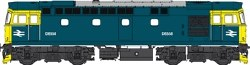 Class 33/0 BR Blue D6558 with Full Yellow Ends