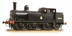 LNWR Webb Coal Tank 58900 BR Black Early Emblem