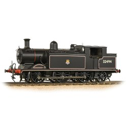 Class E4 0-6-2 32494 BR Lined Black Early Emblem
