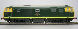 D7076 in Green with Full Yellow Ends (Preserved)