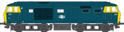 BR Class 35 Hymek Blue 7001 (Full Yellow Ends) Weathered