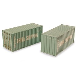 20ft Containers x2 China Shipping