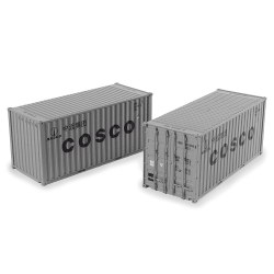 20ft Containers x2 Cosco