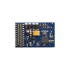 E-Z Command 1 Amp 4 Func. 21 Pin DCC Decoder DC Compatible
