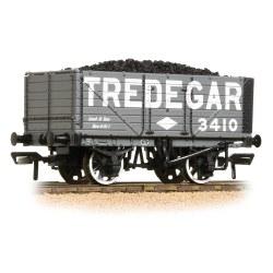 7 Plank End Door Wagon Tredegar - with Wagon Load