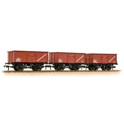 Triple Pack 16 Ton Steel Mineral Wagon BR Bauxite