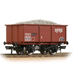 BR 27T Steel Tippler BR Bauxite (TOPS) 'Stone Traffic' - Includes Wagon Load