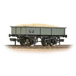 BR 13T Steel Sand Tippler BR Grey (Early) - Includes Wagon Load