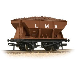 24T Ore Hopper LMS Bauxite - Includes Wagon Load
