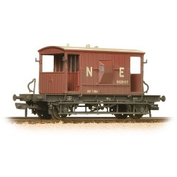 20 Ton Brake Van LNER Oxide Weathered