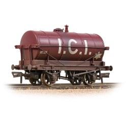 14T Tank Wagon 'ICI' Maroon - Weathered