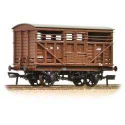 12 Ton LMS Cattle Wagon LMS Brown